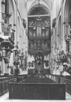 Interior of St. Marien, Lübeck before 1942